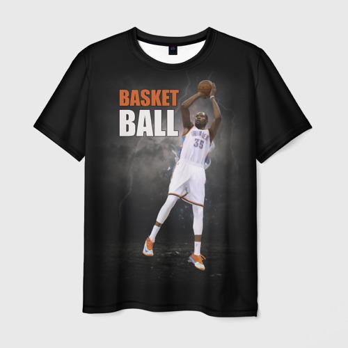 Мужская футболка 3D Basketball