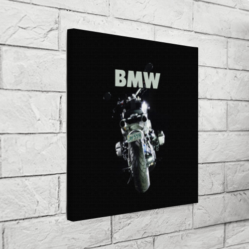 Холст квадратный  Фото 03, BMW moto