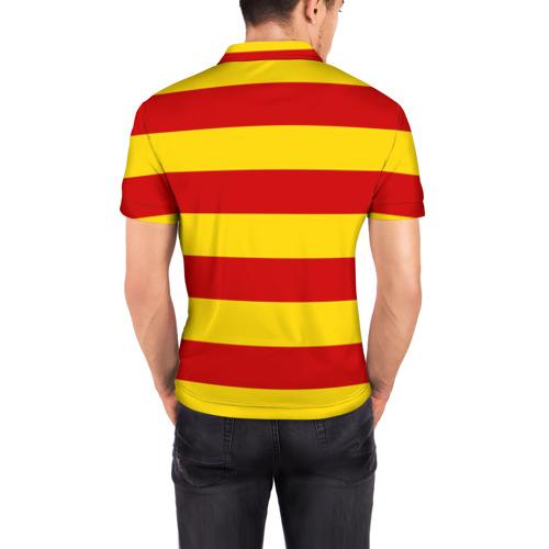 Мужская рубашка поло 3D  Фото 04, Барселона (каталония)