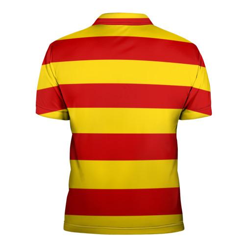 Мужская рубашка поло 3D  Фото 02, Барселона (каталония)