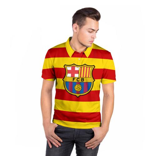 Мужская рубашка поло 3D  Фото 05, Барселона (каталония)