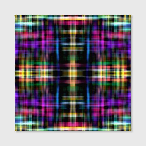 Холст квадратный  Фото 02, Оптические линии