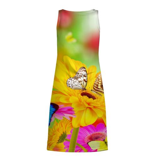 Платье-майка 3D  Фото 02, Цветы