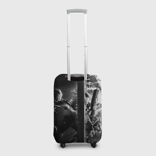 Чехол для чемодана 3D  Фото 02, Спецназ 4