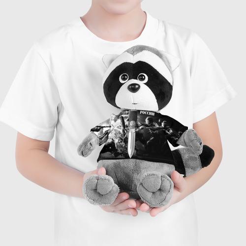 Енотик в футболке 3D  Фото 04, Спецназ 4