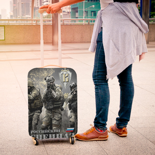 Чехол для чемодана 3D  Фото 04, Спецназ 7