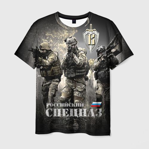 Мужская футболка 3D  Фото 03, Спецназ 7