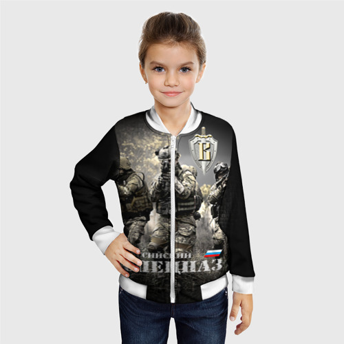 Детский бомбер 3D  Фото 06, Спецназ 7
