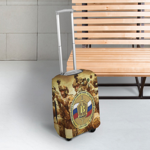 Чехол для чемодана 3D  Фото 03, Спецназ 9