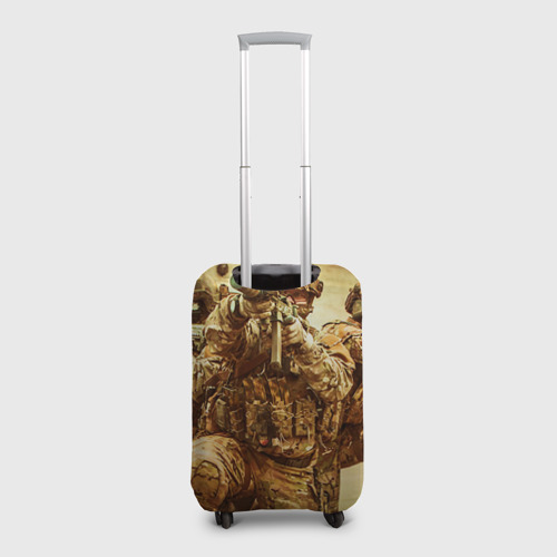 Чехол для чемодана 3D  Фото 02, Спецназ 9
