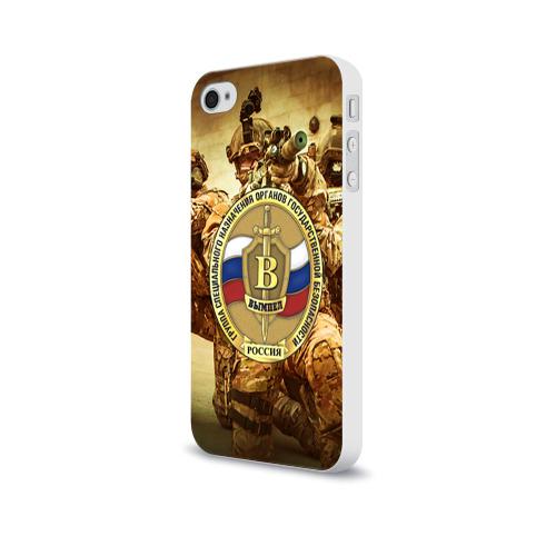 Чехол для Apple iPhone 4/4S soft-touch  Фото 03, Спецназ 9