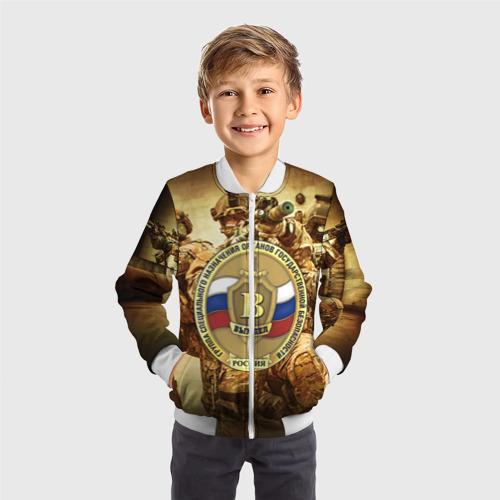 Детский бомбер 3D  Фото 05, Спецназ 9