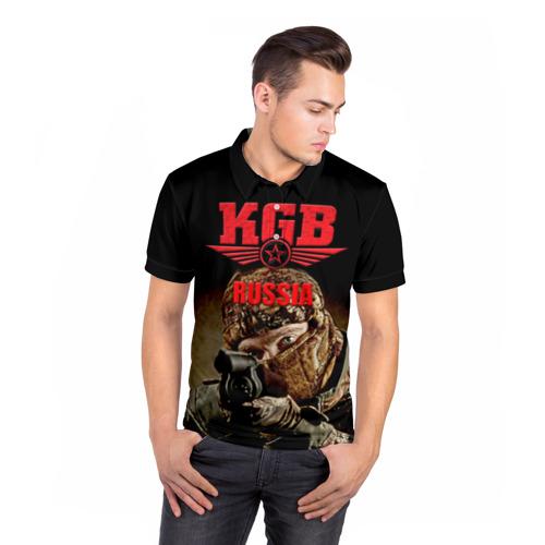 Мужская рубашка поло 3D  Фото 05, Спецназ 12