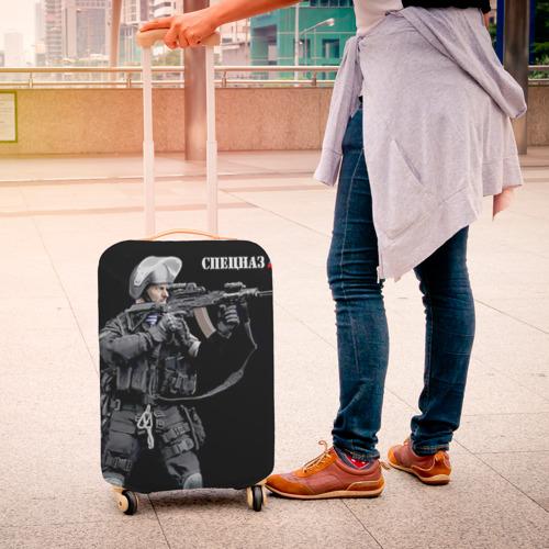 Чехол для чемодана 3D  Фото 04, Спецназ 13