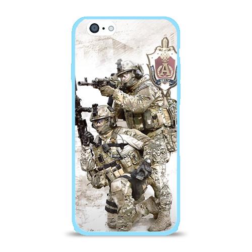 Чехол для iPhone 6/6S глянцевый Спецназ 20 Фото 01