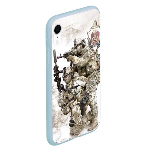 Чехол для iPhone XR матовый Спецназ 20 Фото 01