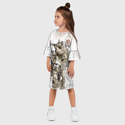 Детское платье 3D Спецназ 20 Фото 01