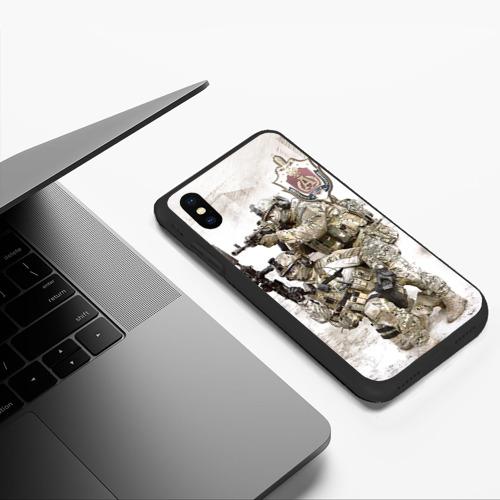 Чехол для iPhone XS Max матовый Спецназ 20 Фото 01
