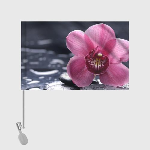 Флаг для автомобиля Цветы Фото 01