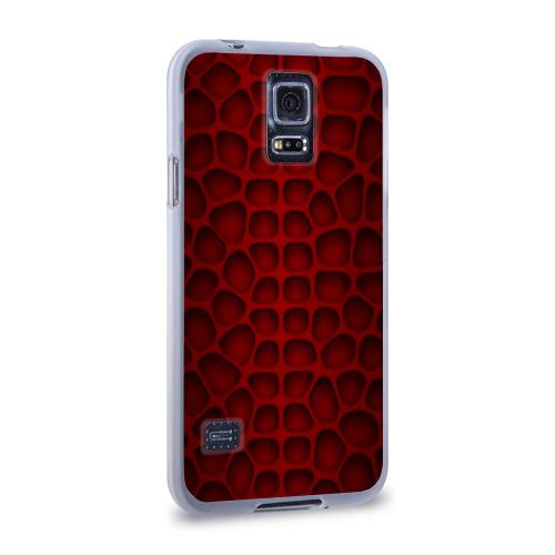 Чехол для Samsung Galaxy S5 силиконовый  Фото 02, Шкура дракона
