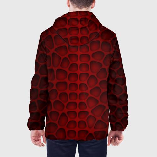 Мужская куртка 3D Шкура дракона Фото 01