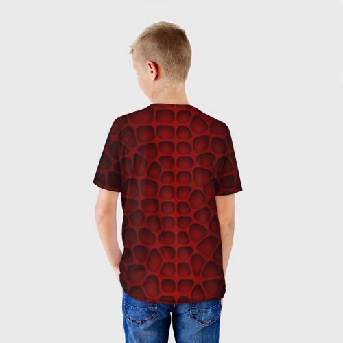 Детская футболка 3D Шкура дракона Фото 01
