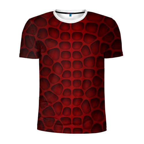 Мужская футболка 3D спортивная  Фото 01, Шкура дракона