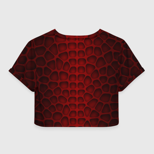 Женская футболка Cropp-top Шкура дракона Фото 01