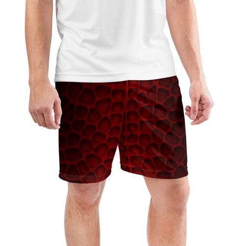 Мужские шорты 3D спортивные  Фото 03, Шкура дракона