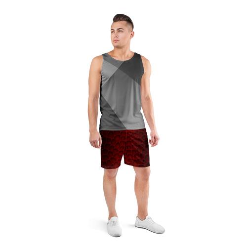 Мужские шорты 3D спортивные  Фото 04, Шкура дракона