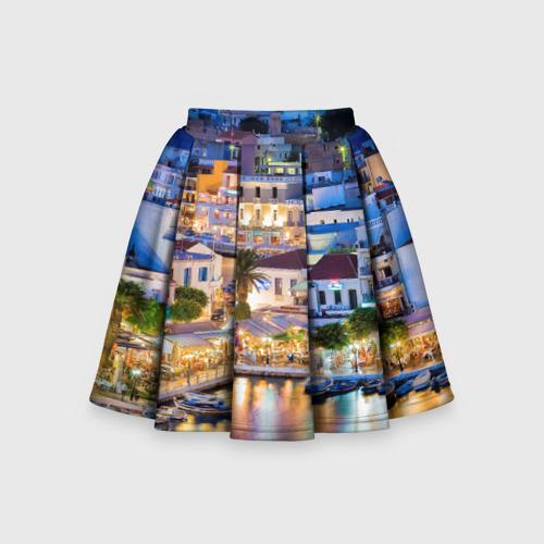 Детская юбка-солнце 3D Крит (Греция)