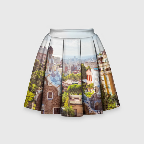 Детская юбка-солнце 3D Барселона (Испания)