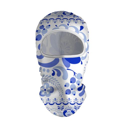 Балаклава 3D Гжель 2