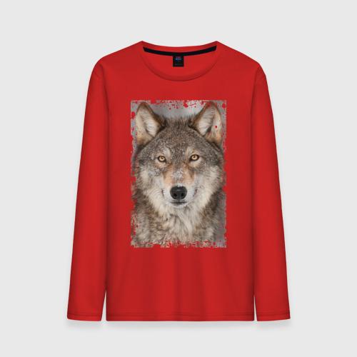 Волк (retro style)