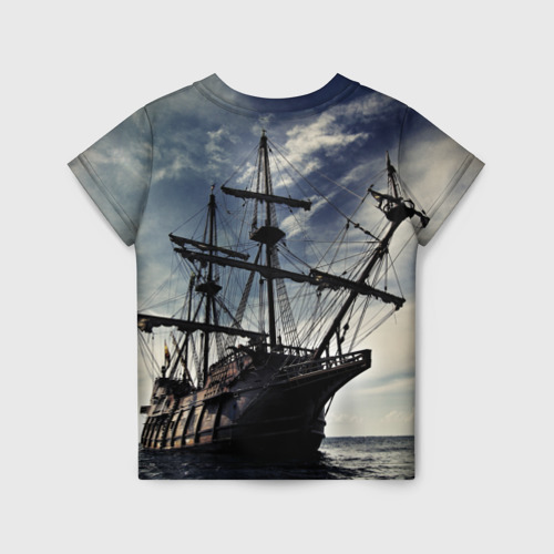 Детская футболка 3D Корабль Фото 01