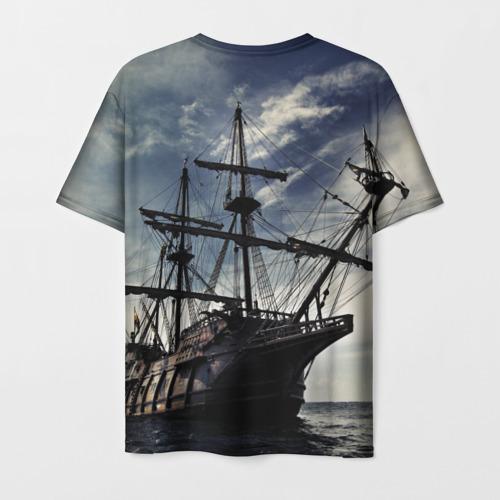 Мужская футболка 3D Корабль Фото 01