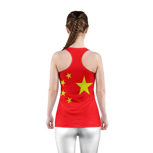 Женская майка 3D спортивная  Фото 04, Китай