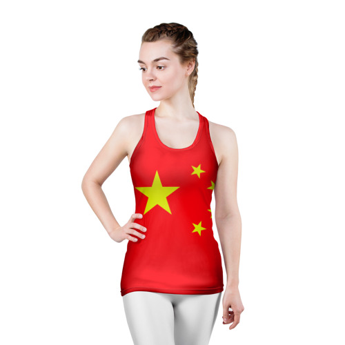 Женская майка 3D спортивная  Фото 03, Китай