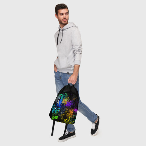 Рюкзак 3D Брызги красок Фото 01