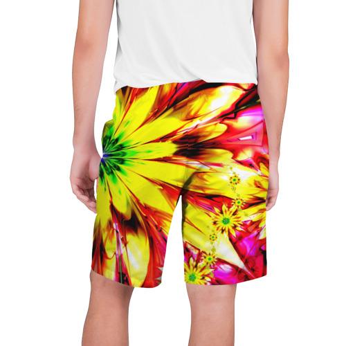 Мужские шорты 3D  Фото 02, Цветочный