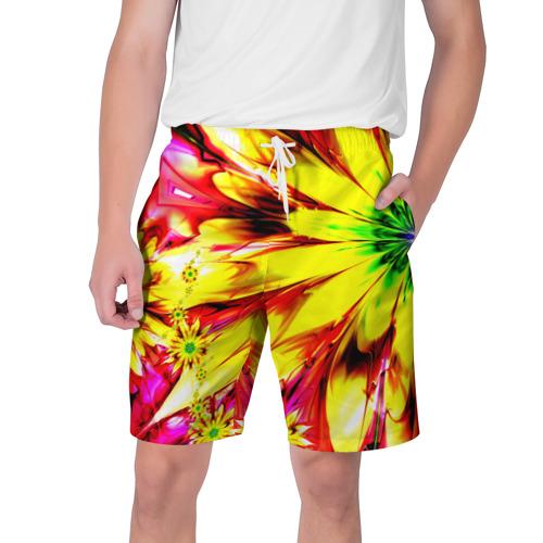 Мужские шорты 3D  Фото 01, Цветочный