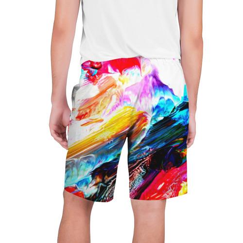 Мужские шорты 3D  Фото 02, Абстракция красок