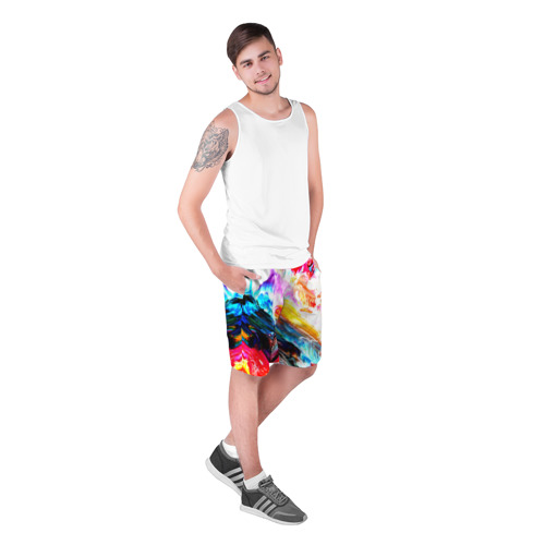 Мужские шорты 3D  Фото 03, Абстракция красок