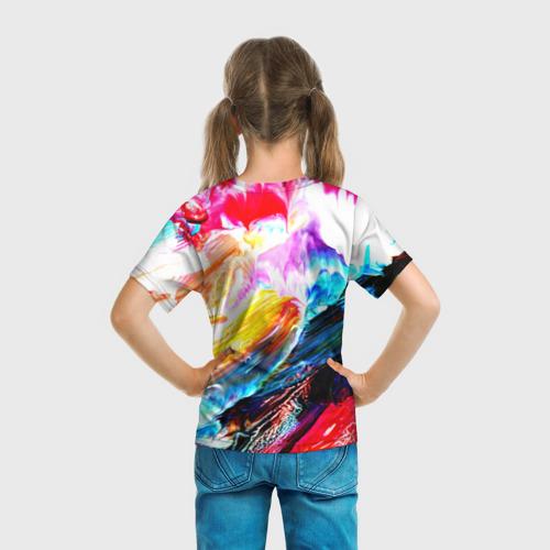 Детская футболка 3D  Фото 04, Абстракция красок
