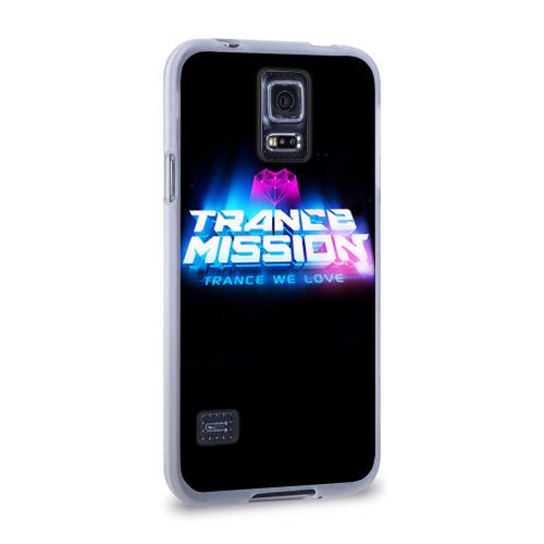 Чехол для Samsung Galaxy S5 силиконовый  Фото 02, Trancemission 2