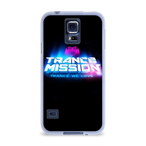 Чехол для Samsung Galaxy S5 силиконовый  Фото 01, Trancemission 2