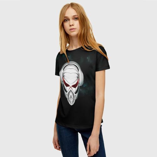 Женская футболка 3D Пиратская станция 1 Фото 01