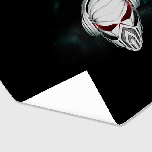 Бумага для упаковки 3D Пиратская станция 1 Фото 01