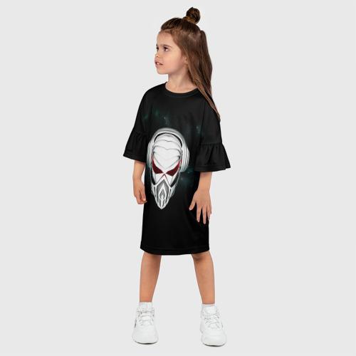 Детское платье 3D Пиратская станция 1 Фото 01
