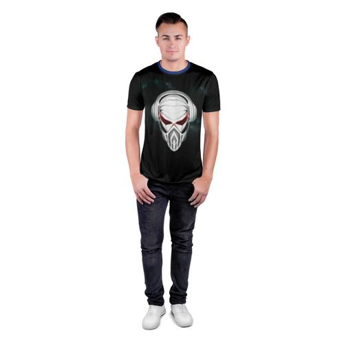 Мужская футболка 3D спортивная Пиратская станция 1 Фото 01
